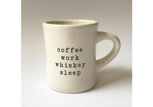 """""""coffee work"""" - Coffee Mug"""