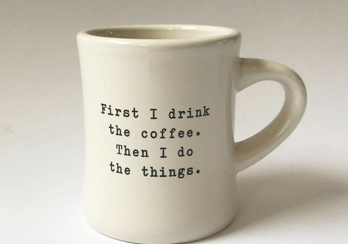 """first"" - Coffee Mug"