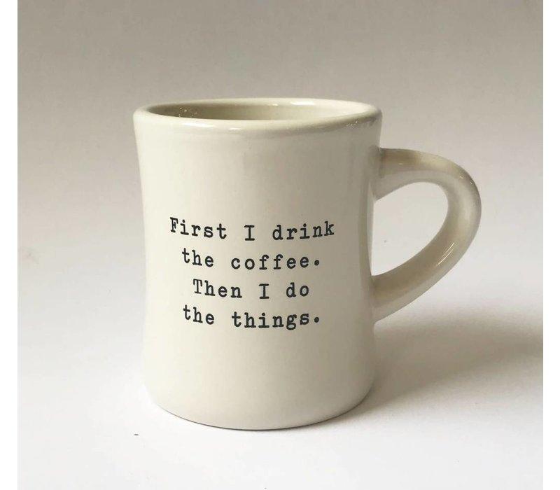 """first"" - Coffee Mug"
