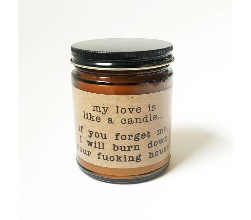 """""""my love is like"""" - 90z Candle"""