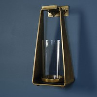 Hanging Brass Wall Sconce