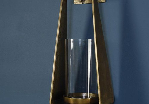 HomArt Hanging Brass Wall Sconce