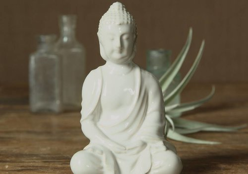 HomArt Glazed Sitting Buddha