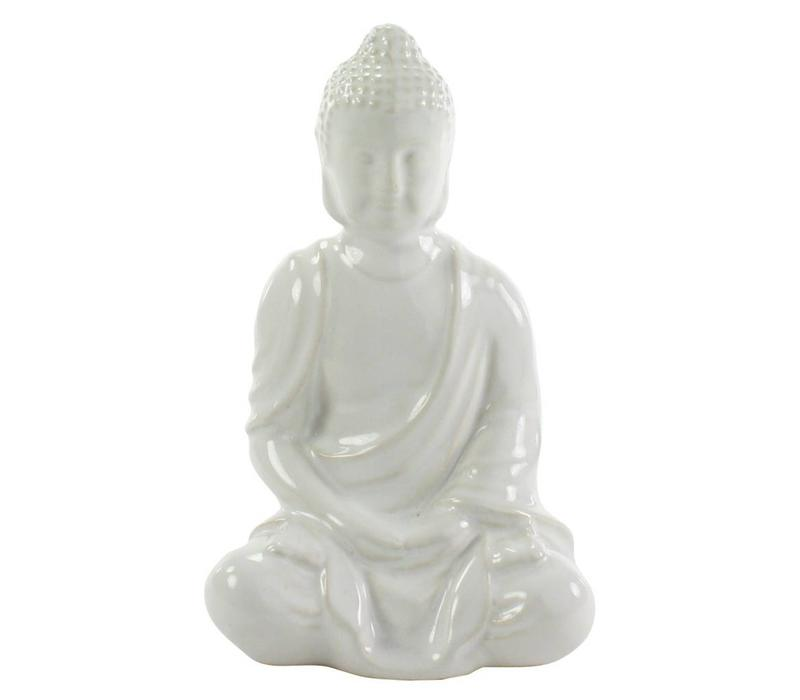 Glazed Sitting Buddha