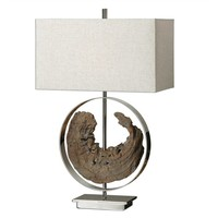 "Ambler 29"" Driftwood Table Lamp"