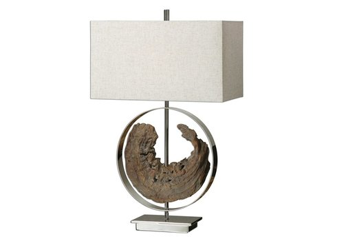 "Ambler 29"" Driftwood Table Lamp"