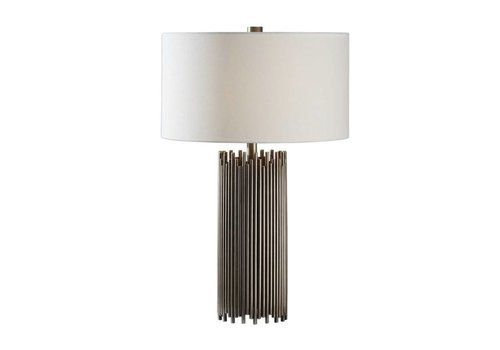 "Nuoro 27"" Antique Nickel Table Lamp"