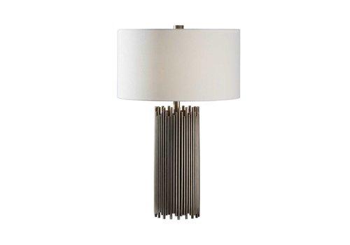 "Nuoro 27"" Antique Nickel Table Lamp"
