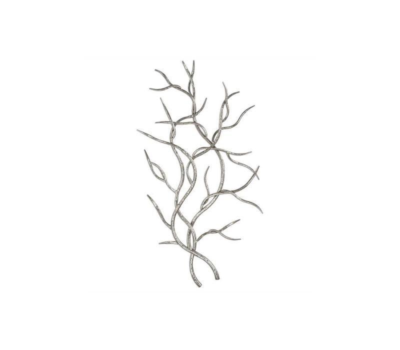Silver Branches S/2 Wall Sculpture