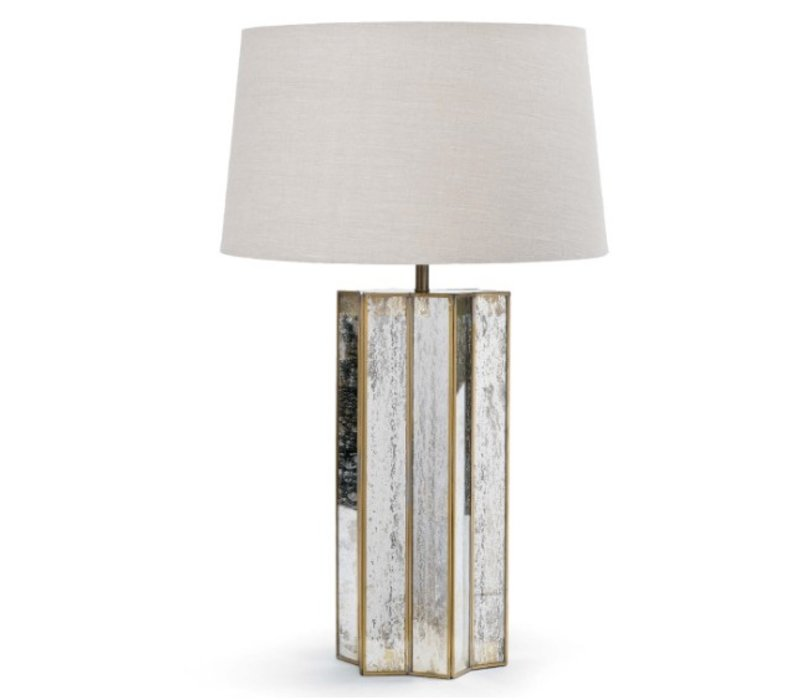"Alexa 29"" Mercury Glass Table Lamp"