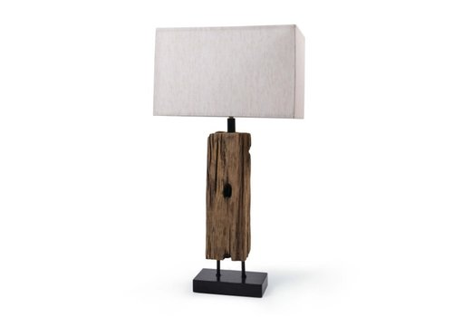 "Reclaimed Wood 31"" Table Lamp"