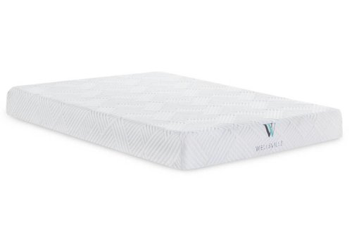"WELLSVILLE Wellsville 8"" Gel Foam Mattress"
