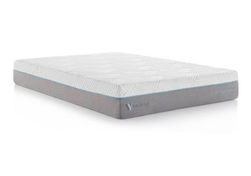 "WELLSVILLE Wellsville 11"" Gel Memory Foam Hybrid Mattress"