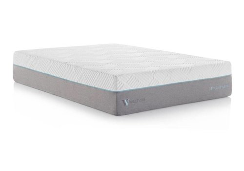 "WELLSVILLE Wellsville 14"" Gel Memory Foam Hybrid Mattress"