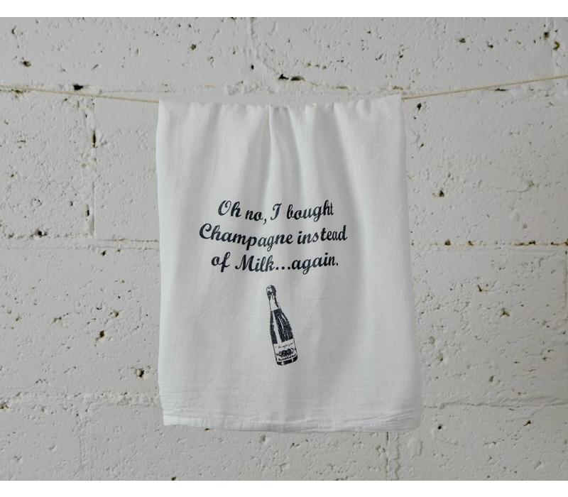 """""""champagne"""" - Dish Towel"""