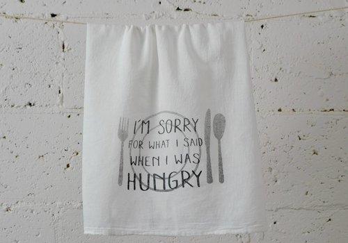 """I'm sorry"" - Dish Towel"