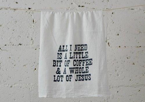 """jesus"" - Dish Towel"