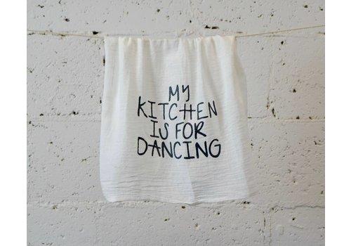 """my kitchen"" - Dish Towel"