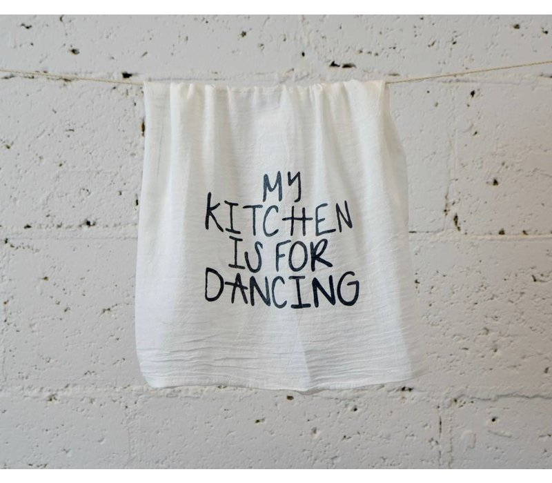 """my kitchen"" - Dish Towel"