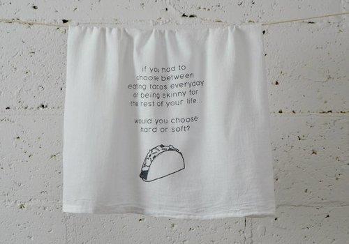 """taco"" - Dish Towel"