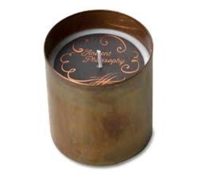 DHARAMSALA COPPER CANDLE