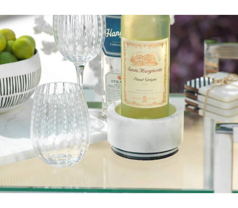 Marine Marble Wine Coaster