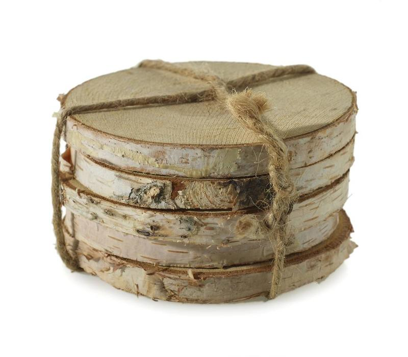 Birch Coasters - Set of 5