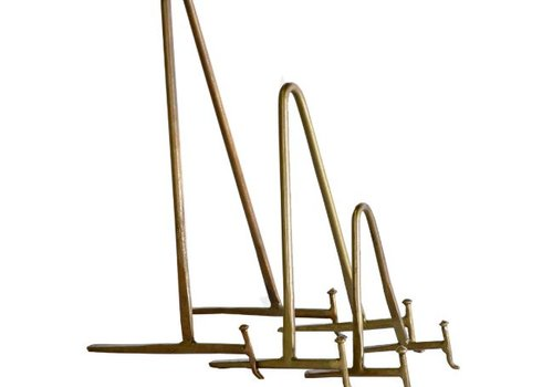 Antique Brass Display Stand