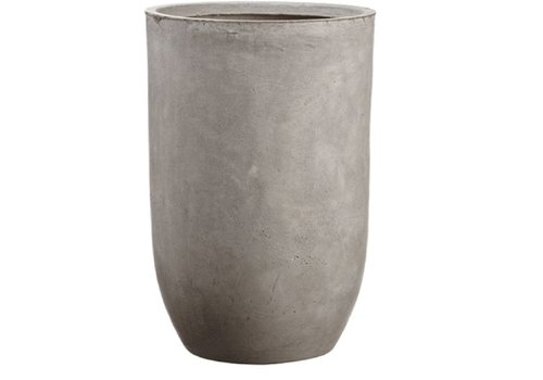 "21.5"" Cement Planter"