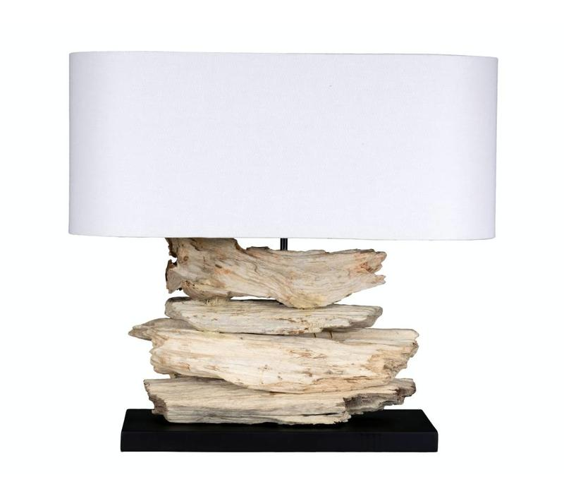 "Alder 23"" Lamp with Oval Shade"