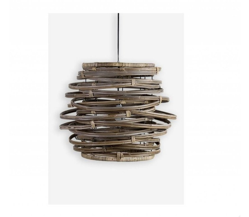 Oceola Hanging Lamp Grey  - Large