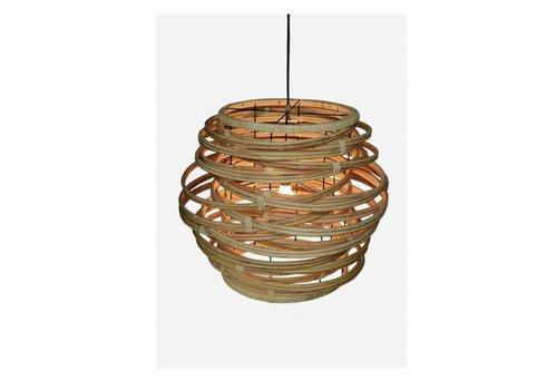 Jeffan International Oceola Hanging Lamp Natural - Large