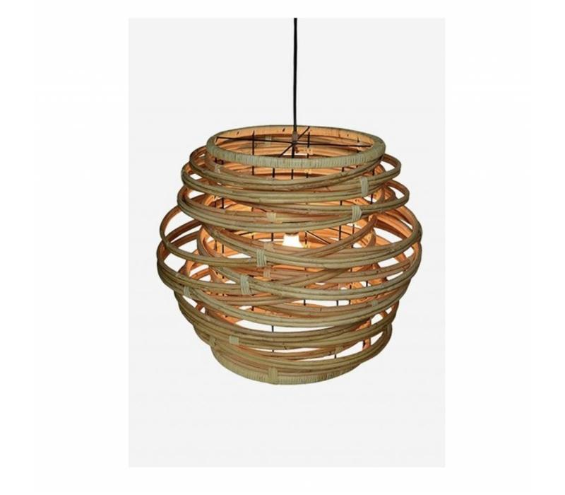 Oceola Hanging Lamp Natural - Large