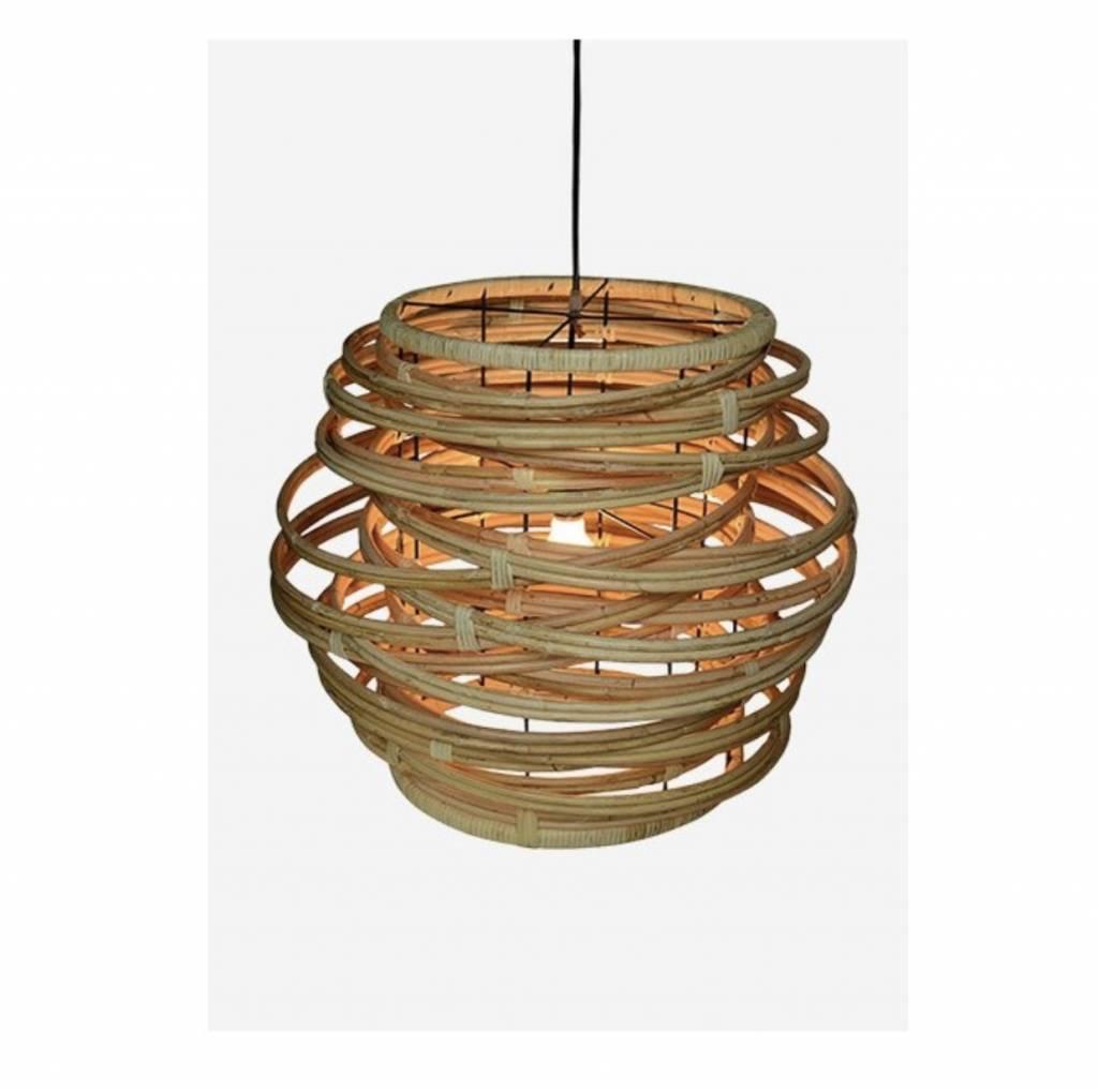 Oceola Hanging Lamp Natural Large