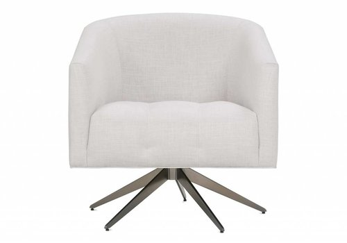 ROWE Pate Swivel Accent Chair-Floor Model