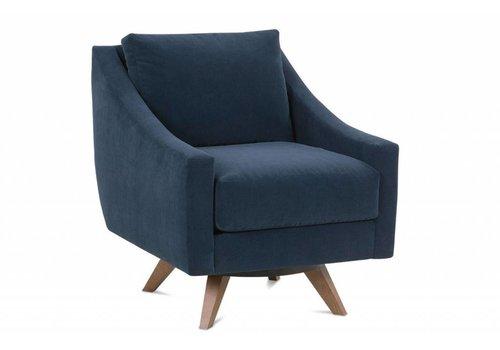 ROWE Nash Swivel Chair Floor Model