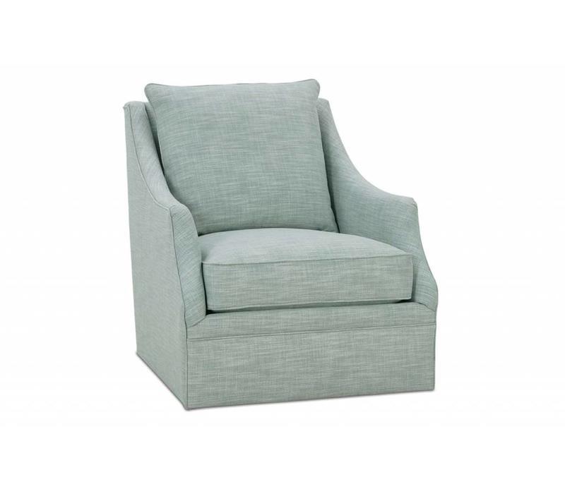 Kara Beige Swivel Chair