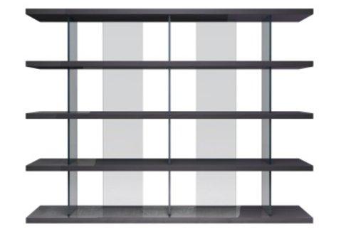 Beekman Gray Bookcase - *Floor Model