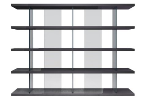 Beekman Gray Bookcase