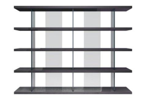 Beekman Gray Bookcase