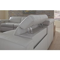 Titan Leather Reclining Sectional