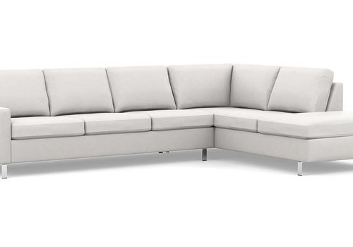 Emilia Leather Sectional - *Floor Model