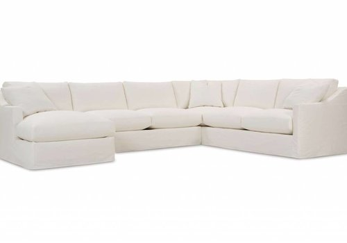 ROWE Bradford Slipcover Large Chaise Sectional