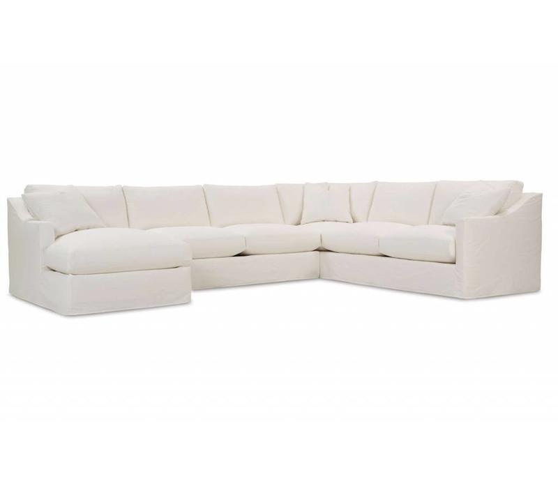 BRADFORD SLIPCOVERED SECTIONAL