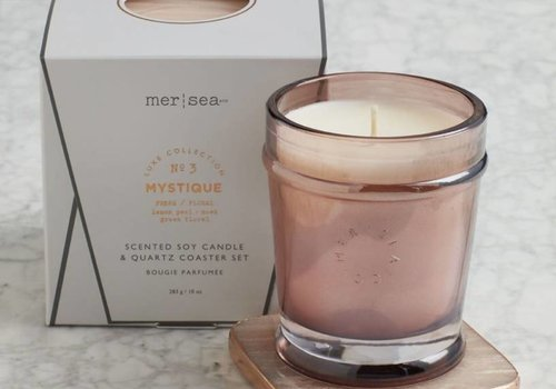 Mer-Sea & Co. Luxe Quartz Boxed Candle-Mystique