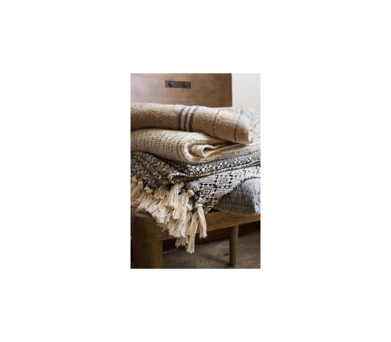 Serra Linen & Cotton Throw