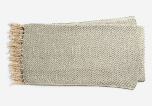 Ellen DeGeneres Grove Light Gray Throw