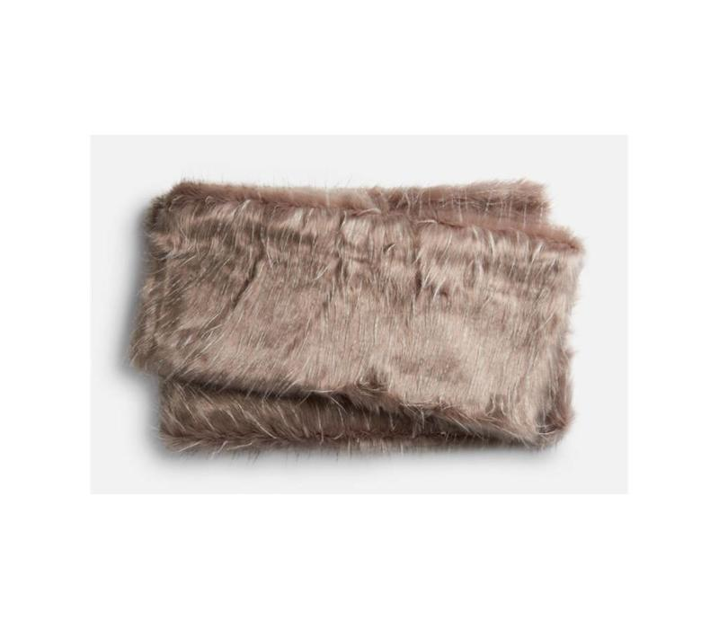 Zora Faux Fur Throw