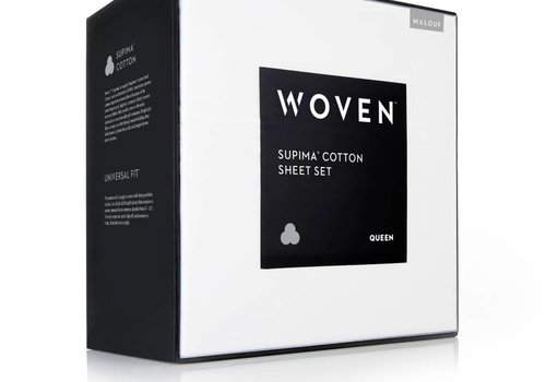 MALOUF Woven Supima Cotton Sheet Set