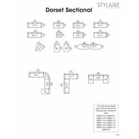 Dorset Two Piece Sectional